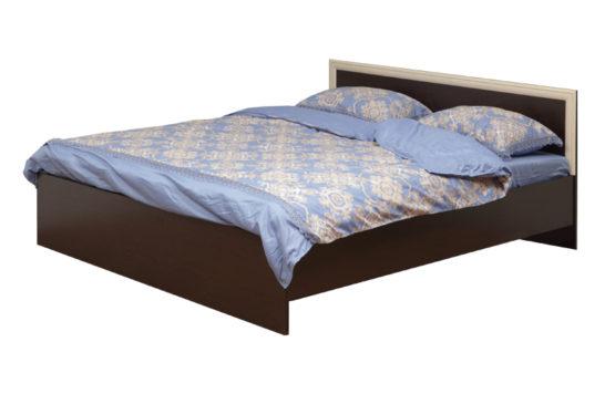 Кровать двойная 21.54-01 с настилом 1800