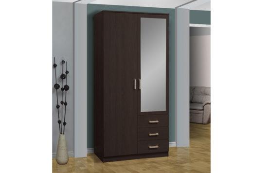 Шкаф комбинированный 06.290 С ЗЕРКАЛОМ