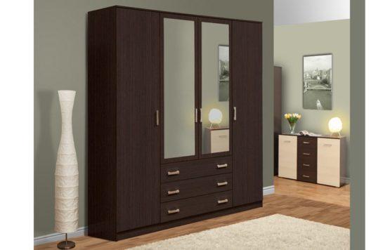 Шкаф комбинированный 06.292 с зеркалом