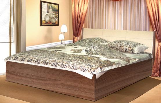 Кровать двойная 06.121-02 с откидным механизмом 1600