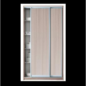 Шкаф-купе 2 двери без зеркала