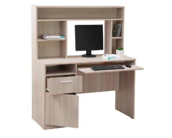 Стол компьютерный с настольной полкой 10-06