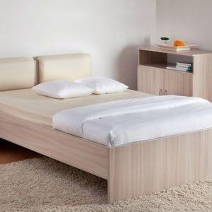 """Кровать """"Мелисса"""" с мягкой спинкой"""