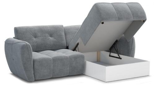 Угловой диван Треви-3 Atlanta.grey Империал