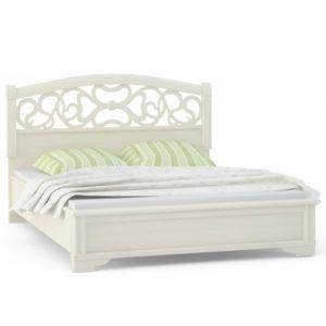 Кровать 2 спальная вставка ясень (1600мм) Спальни Tiffany Ясень