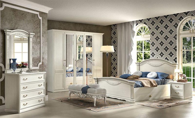 Спальня Лючия светлая