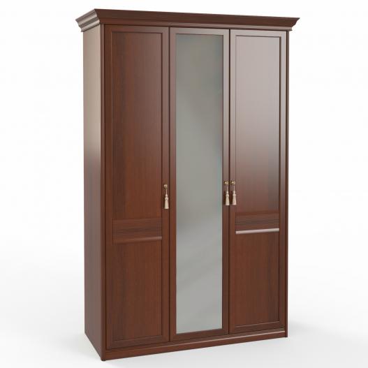 Шкаф 3 дв. (1+2) с зерк. Спальни Dante