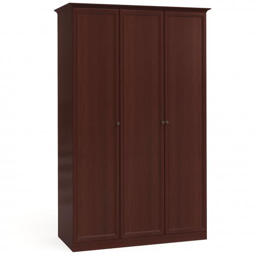 Шкаф 3дв. (1+1+1) Спальни Камелия Орех