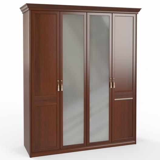 Шкаф 4 дв. (2+2) с зерк. Спальни Dante