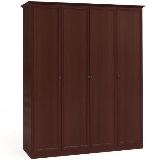 Шкаф 4дв. (1+2+1) Спальни Камелия Орех