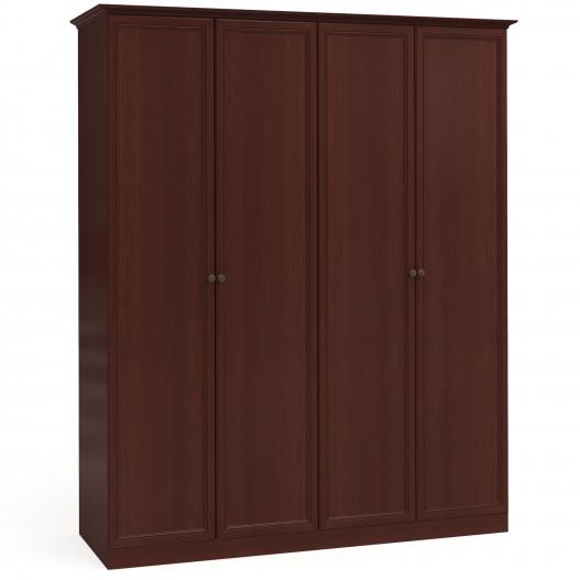 Шкаф 4дв. (2+2) Спальни Камелия Орех