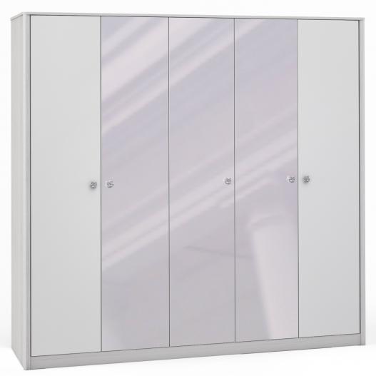 Шкаф 5дв. (2+1+2) с 3 зерк. Спальни Opera