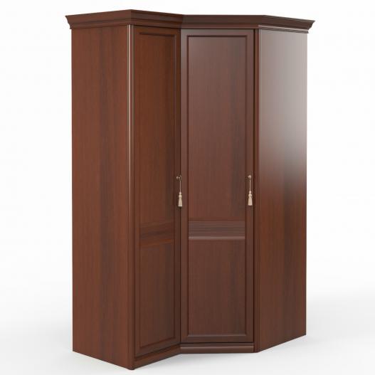 Шкаф угловой (1+угл.) (двери левые, ограничитель) Спальни Dante