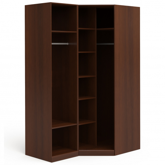 Шкаф угловой (1+угл.) (двери правые) Спальни Dante