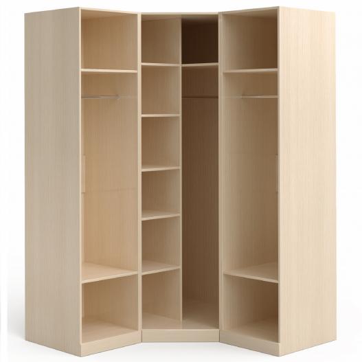 Шкаф угловой (1+угл.+1) Марта-М Беж