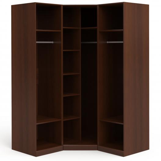 Шкаф угловой (1+угл.+1) (двери левые, ограничитель) Спальни Dante