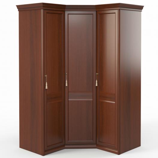 Шкаф угловой (1+угл.+1) (двери правые, ограничитель) Спальни Dante