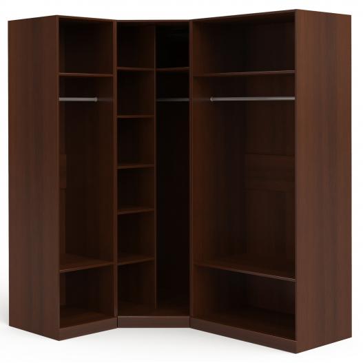 Шкаф угловой (1+угл.+2) (двери левые, ограничитель) Спальни Dante