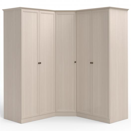 Шкаф угловой (2дв.+угл.+2дв.) Спальни Camilla