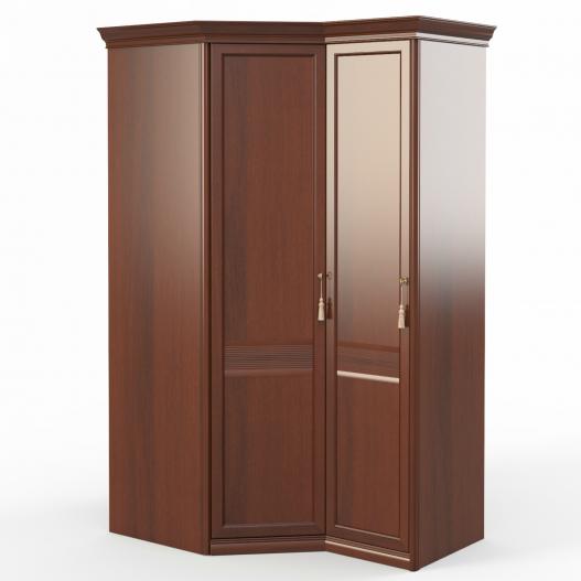 Шкаф угловой (угл.+1) (двери левые) Спальни Dante