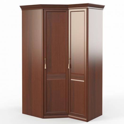 Шкаф угловой (угл.+1) (двери правые ограничитель) Спальни Dante