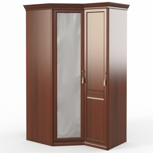 Шкаф угловой (угл.с зерк.+1) (дв.лев., ограничитель) Спальни Dante
