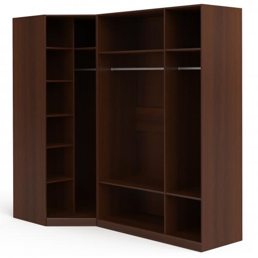 Шкаф угловой (угл.с зерк.+3 (2+1)) Спальни Dante