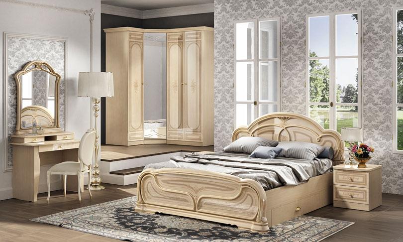 Спальня Марта-М Беж Шатура