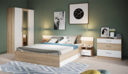 Спальный гарнитур Алена с 3-дверным шкафом