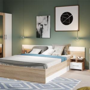 Спальный гарнитур Алена с 4-дверным шкафом