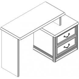 Стол туалетный (топ) Спальни Лючия светлая