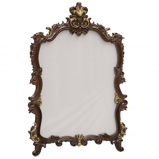 Зеркало навесное к кроватям ATD, ATE Спальни Флоренция