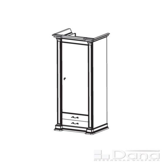 Шкаф Атланта №46-R