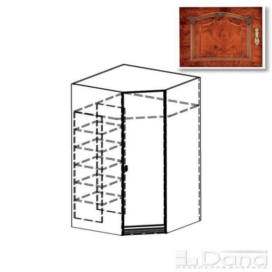 Шкаф угловой Империя №47