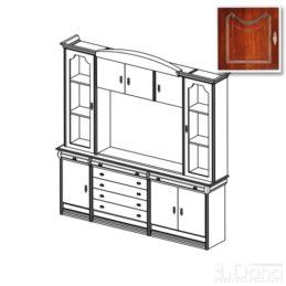 Стенка Вена №85 с модулем тв для плазменной панели