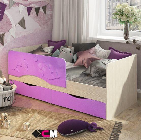 Кровать детская КР-811 (1,4) Алиса