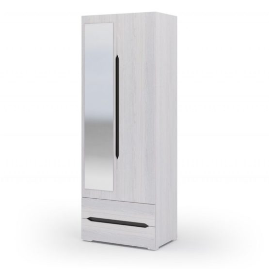 Шкаф 2-х створчатый с ящиками ШК-011 спальня Валенсия