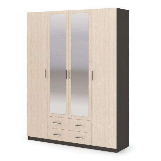 Шкаф 4-х створчатый ШК-602М спальня Гармония